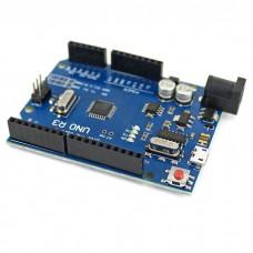 Arduino UNO R3 (CH340G), MicroUSB
