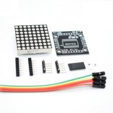 Модуль светодиодной матрицы 8х8, MAX7219 (DIY)