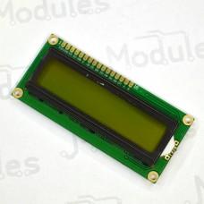 Символьный LCD дисплей 1602, зеленый (HD44780)
