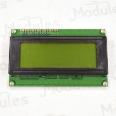 Символьный LCD дисплей 2004, зеленый