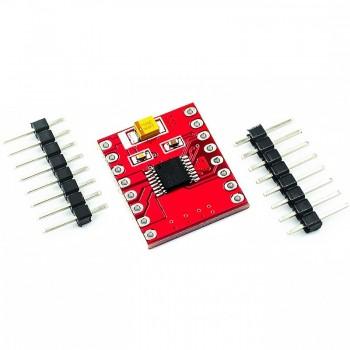 Двухканальный драйвер двигателей на DRV8833