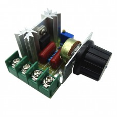 SCR регулятор напряжения, диммер, регулятор скорости 220В 2000Вт