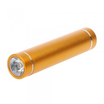 Портативное зарядное устройство Power Bank с LED фонариком