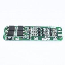 BMS 3S контроллер Li-Ion аккумуляторов 12.6В 20A