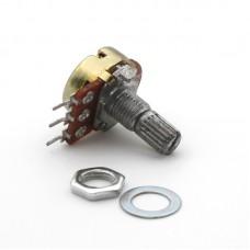 Переменный резистор WH148 10KОм ( B10K, 15мм)