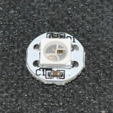 Светодиоды WS2812B с пиксельной адресацией, распаян
