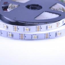 Светодиодная лента SK6812 RGBWW 30 шт/м, с самоклейкой