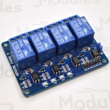 Модуль реле 4-канальный